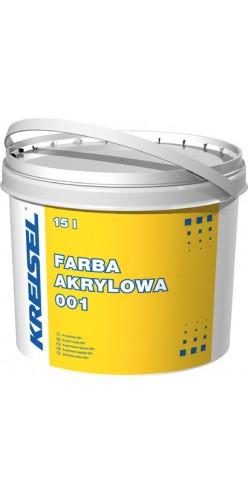 Фасадная акриловая краска FARBA AKRYLOWA 001 Kreisel
